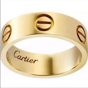 Love screw ring